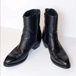 NEW Durango Side Zip Western Boots Rubber Outsole